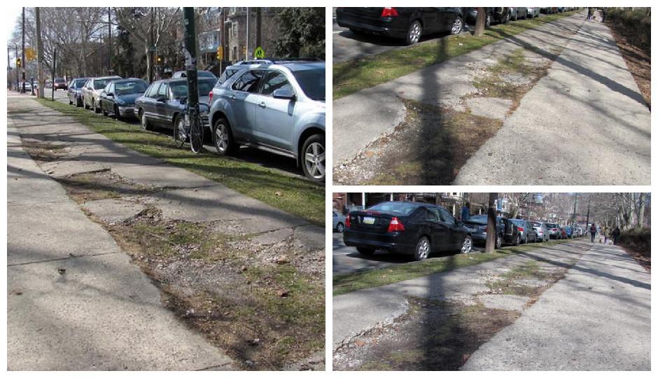 Philadelphia sidewalks