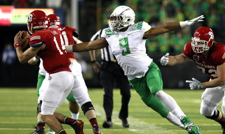 Arik Armstead. Photo courtesy of USA Today