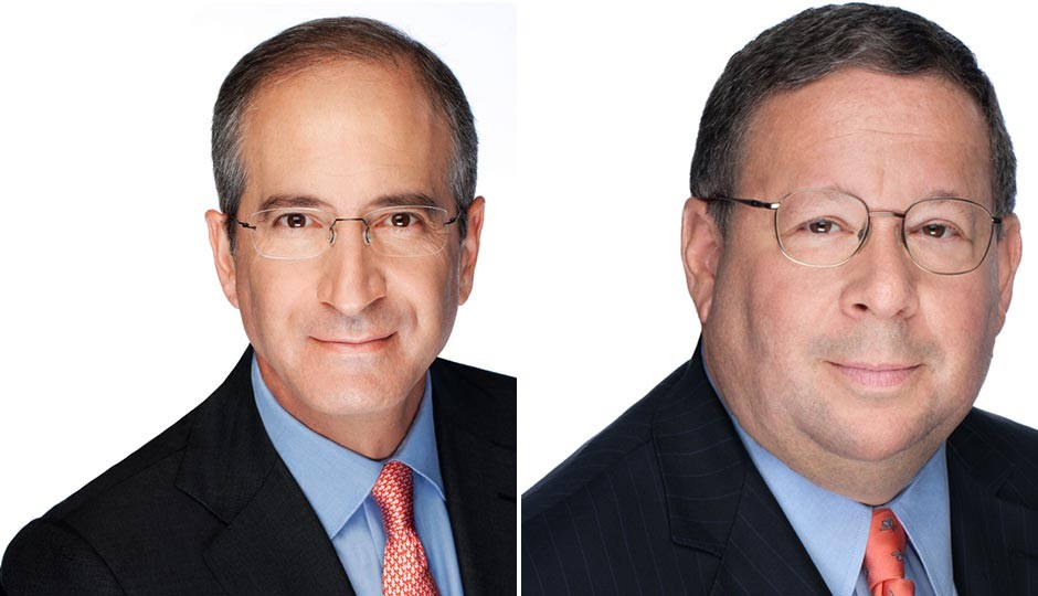 Brian Roberts (left) and David Cohen. Photos   Comcast