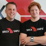 Det Ansinn (left) and Daniel Wood of Brick Simple are developing apps for the Apple Watch.