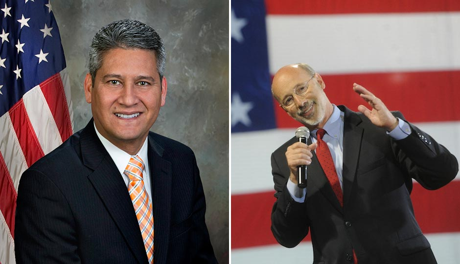 Pedro Cortes  | official portrait. Tom Wolf | Jason Plotkin AP/York Daily Record