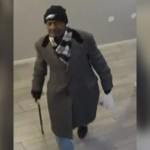 Alleged Thief in Eagles Hat