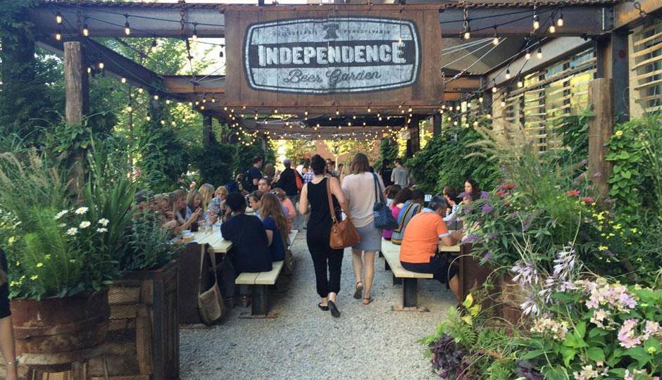 Independence Beer Garden Sets Opening Date