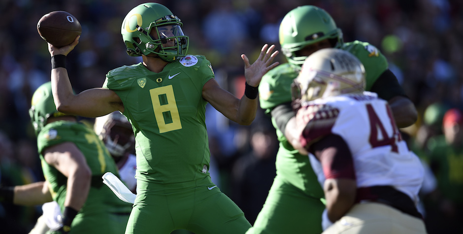 Marcus Mariota (Kelvin Kuo / USA Today)