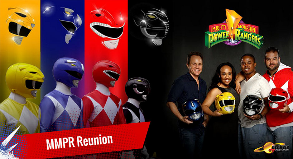 Mighty Morpin Power Rangers Reunion