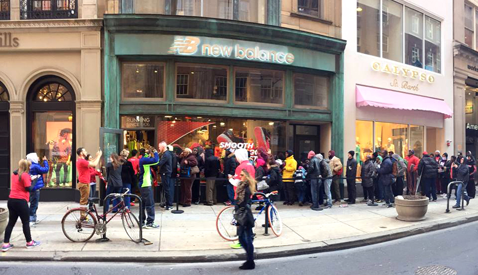 a61a794ad0f48 New Walnut Street New Balance Store Has Custom Philly Sneakers