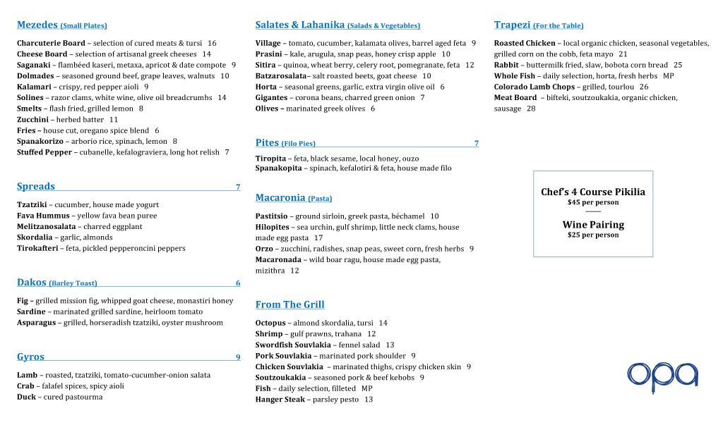 opa-spring-dinner-menu