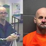 Left: the suspect in Wednesday's Center City bank robbery. Right: James Ney, arrested Thursday for an Atlantic City bank robbery.