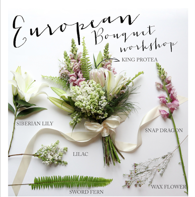 Learn how to make your own hand-tied bouquet at Flowers & Co.'s upcoming workshop.