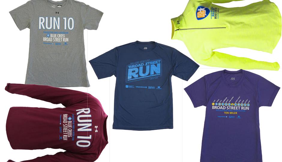 Broad Street Run shirts