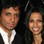 M. Night Shyamalan and his wife, TK. | Shutterstock.com