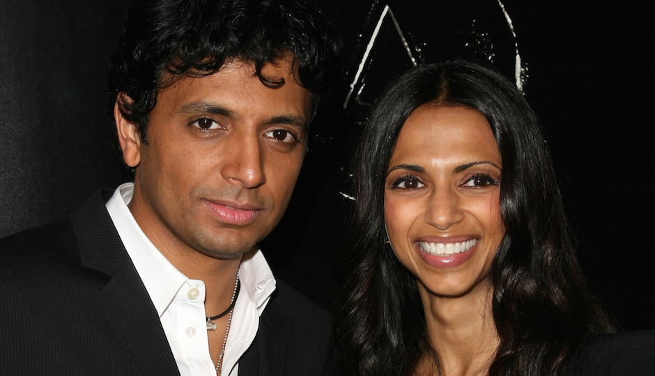 M. Night Shyamalan and his wife, Dr. Bhavna Shyamalan. | Shutterstock.com