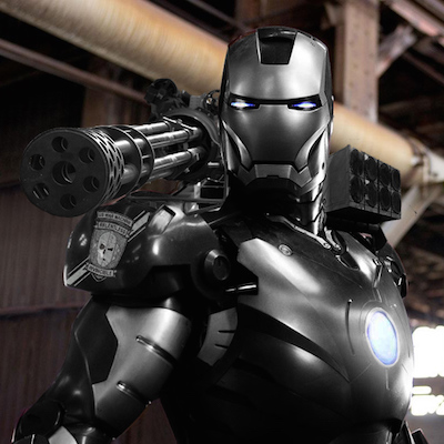 War Machine in Avengers: Age of Ultron