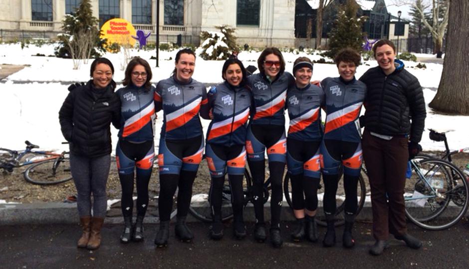 Women Bike PHL Devo Team | Photo via Annie Monjar