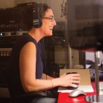Serial creator/host Sarah Koenig in the studio.