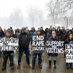 Penn State students in March protest against Kappa Delta Rho.