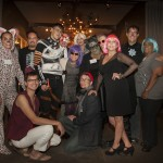 AIDS Law Project of Pennsylvania staff and alumni being fabulous at Boo!
