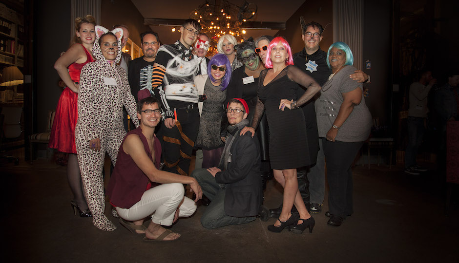 Team AIDS Law Project at their annual event Boo! in 2014.