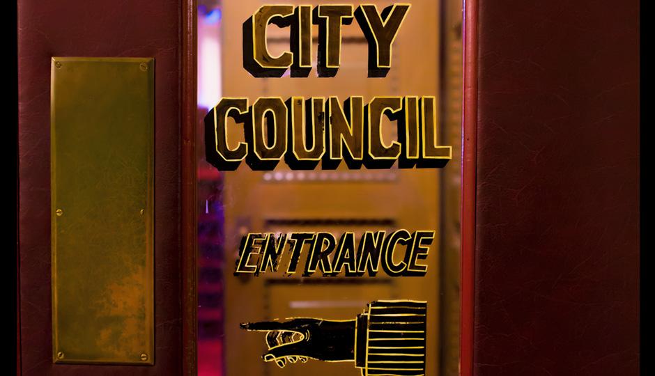 City Council Entrance