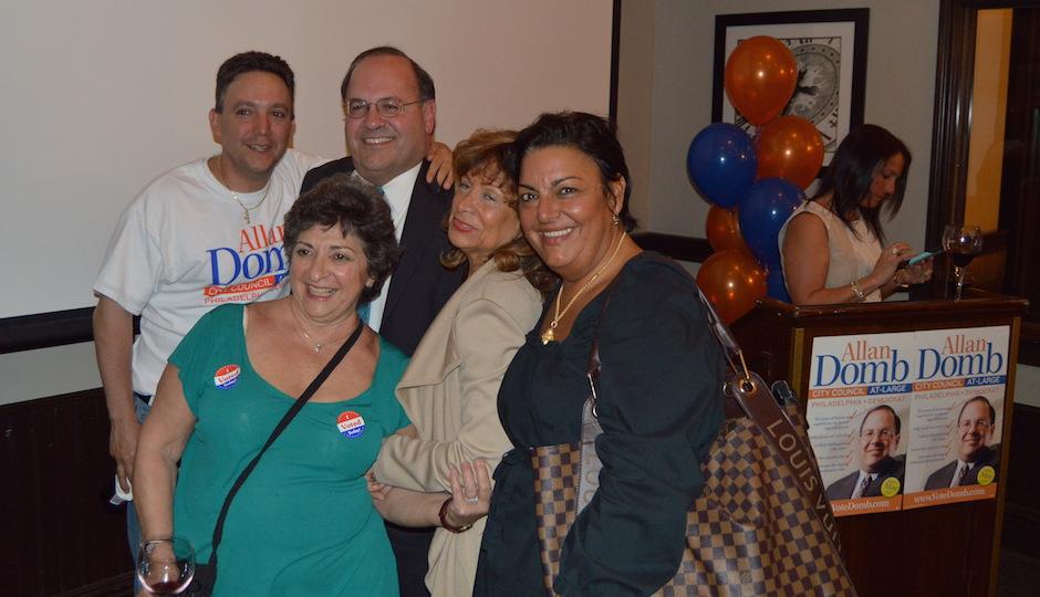 Allan Domb Election Night
