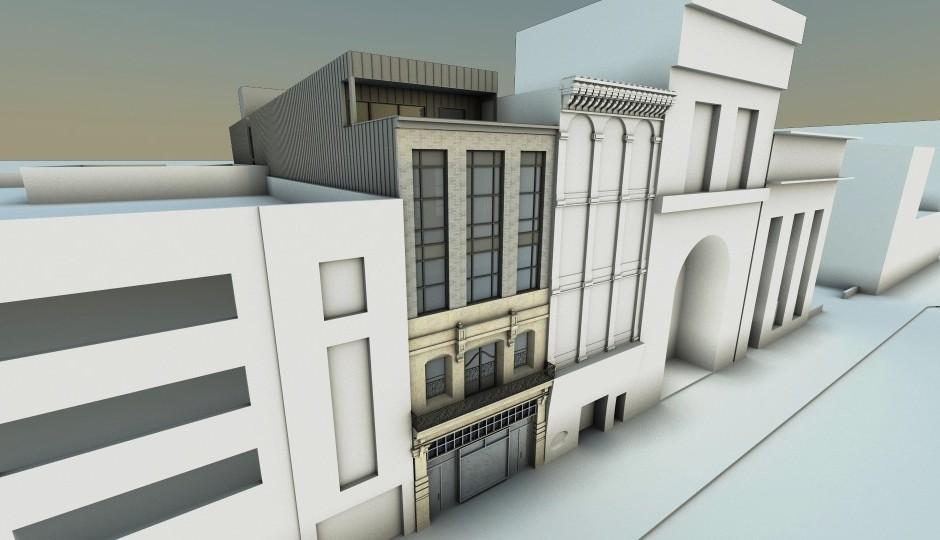 Rendering of 725 Chestnut Street | via Urban Space Development Inc.