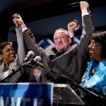 Jim Kenney accepts the Democratic nomination for mayor.