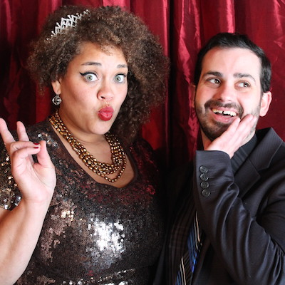 Ashley Coleman and Chris Blondell host A Very Tabu Prom on Saturday.