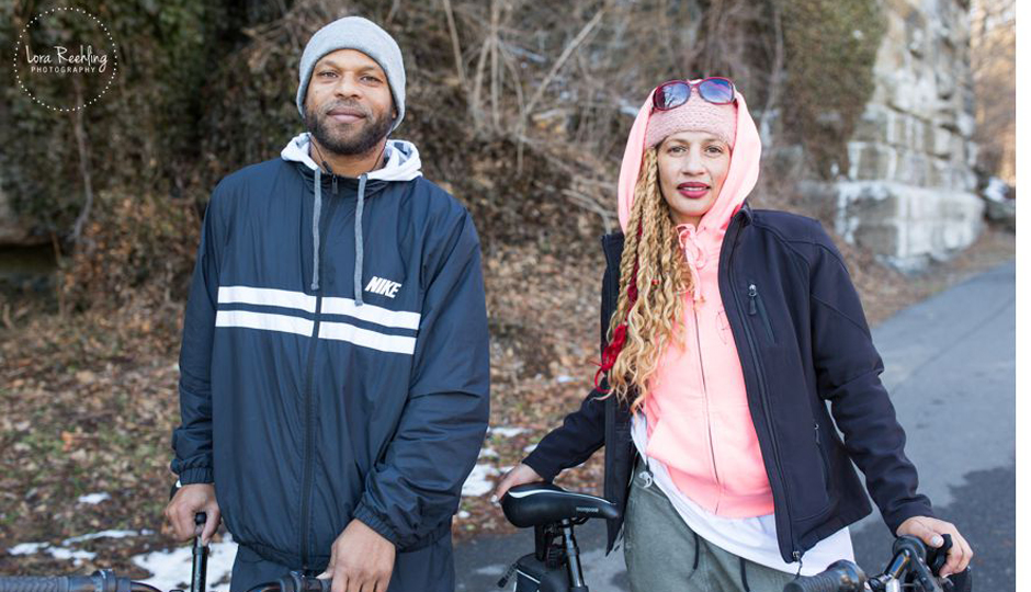 Khy and June, two bikers featured on IBikePHL.