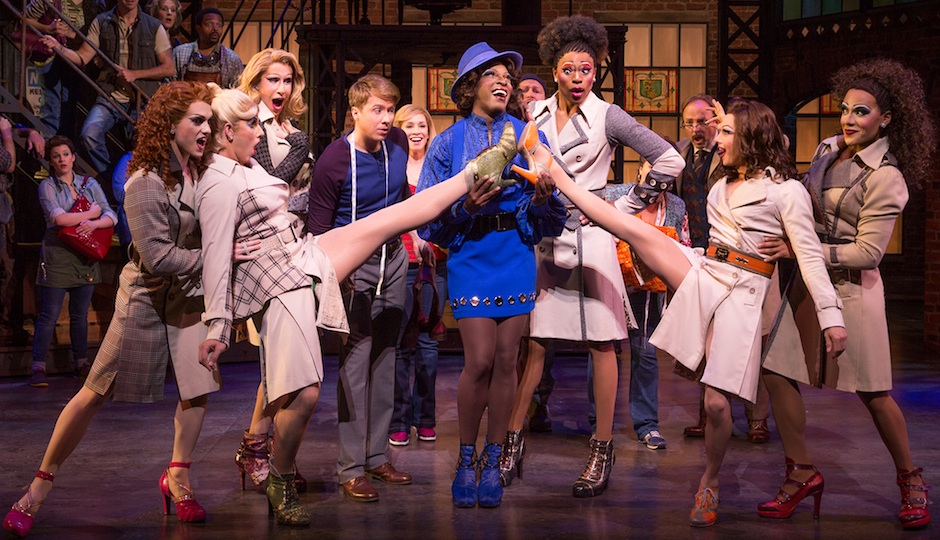 The cast of 'Kinky Boots.'