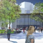 The new-look Korman Center from the Korman Quadrangle | Courtesy: Drexel University