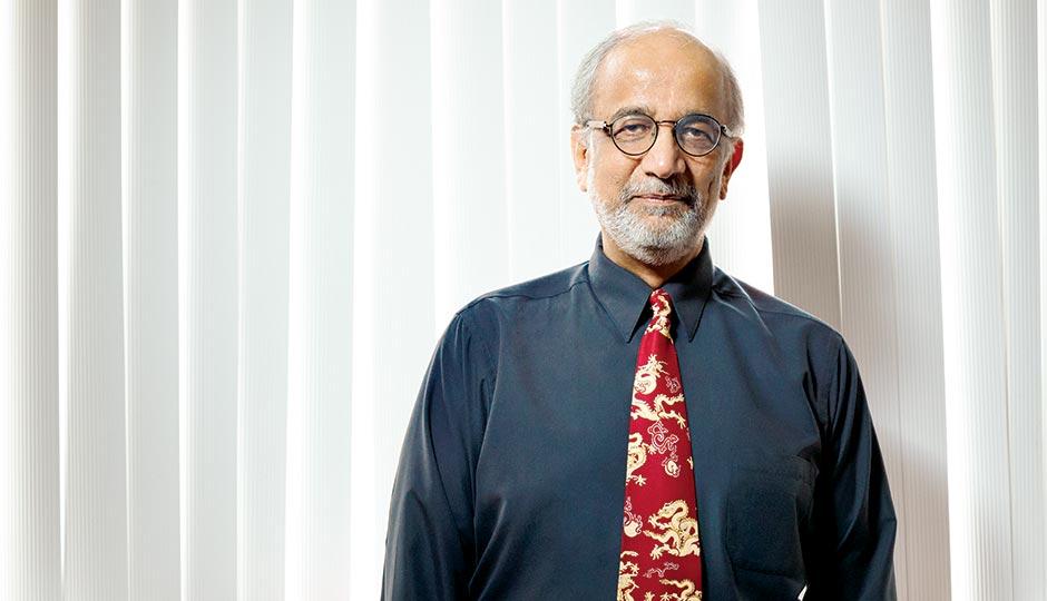 Akhil Vaidya, a molecular biologist at Drexel University College of Medicine. Photograph by Jonathan Pushnik