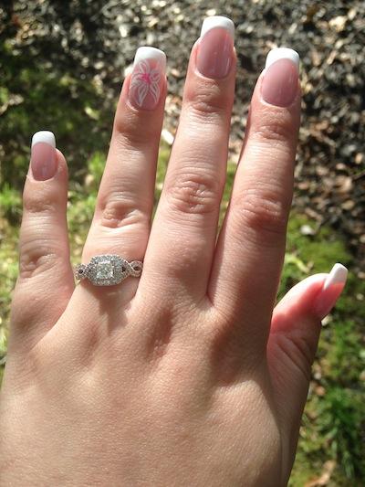 Nicole's ring!