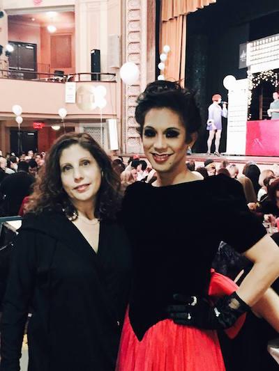 AIDS Law Project's Messapotamia Lefae and Ronda Goldfein.
