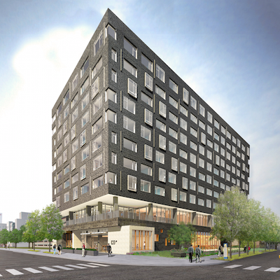 The Study at University City | Rendering: Study Hotels