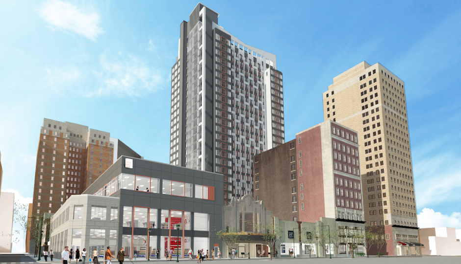 The new plans   Rendering: Eimer Architecture, Pearl Properties