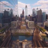 Screenshot of Philadelphia drone clip | Clip by Chris DeAntonio via Instagram