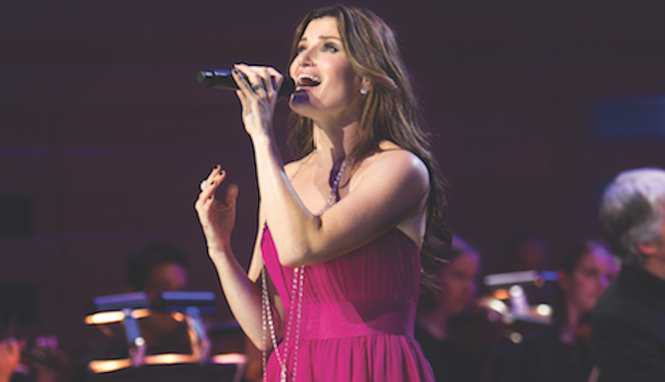 See Idina Menzel let it go at the Mann Center on TK.