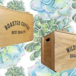 Pile your crate high with gorgeous florals. | Shutterstock; Three Potato Four