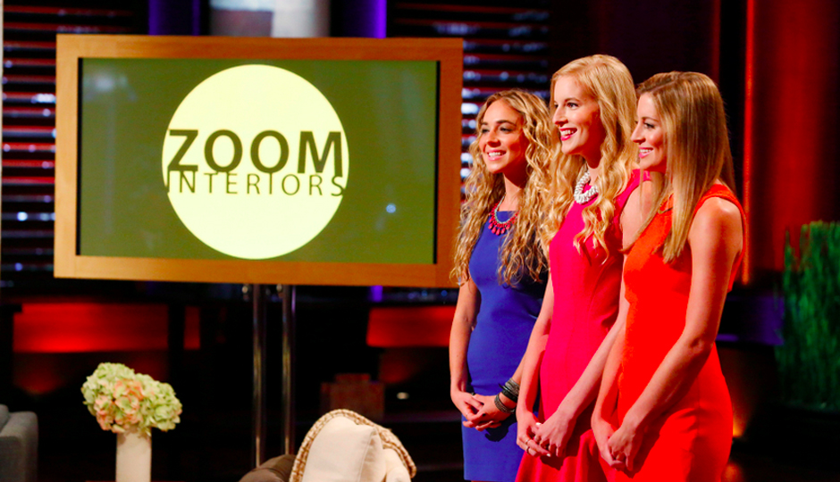 Beatrice Fischel-Bock, Madeline Fraser and Elizabeth Grover of ZOOM Interiors.