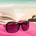 beach book reading