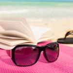 beach book reading
