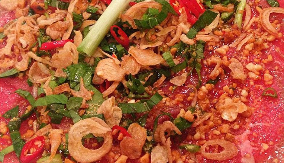 Beef Ceviche at I ♥︎ Cambodia
