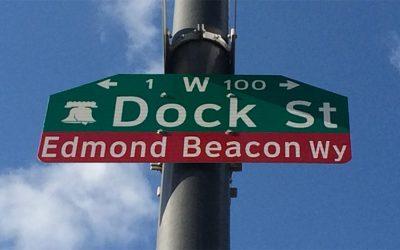 Edmond Beacon Way (It Should be Edmund Bacon Way)