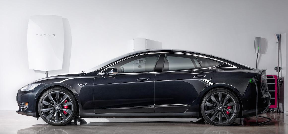 Powerwall is on the wall.   Image: Tesla