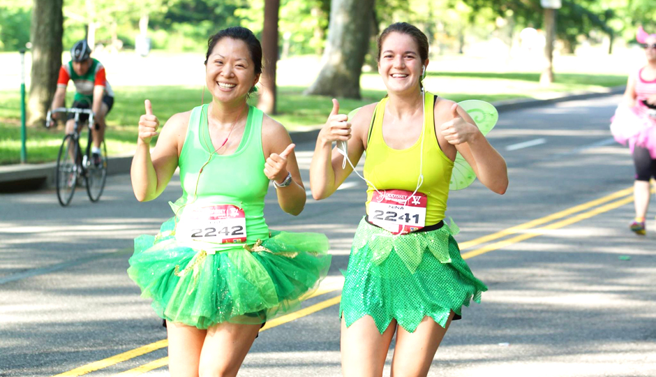 ODDyssey half marathoners // Photo via Facebook
