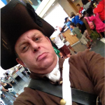 This classic Philly Selfie was captured at the Independence Visitor Center.