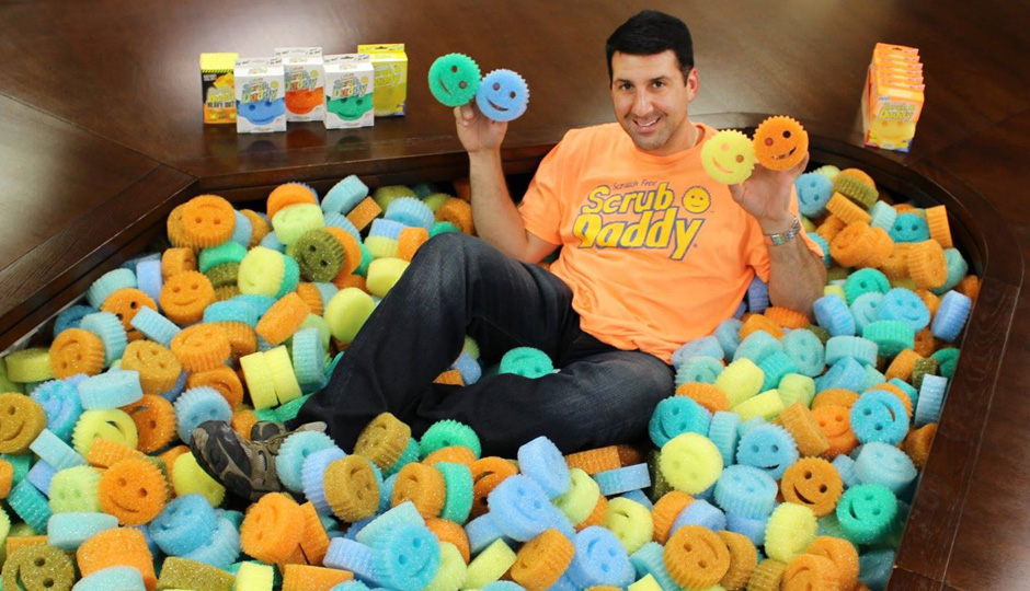 Aaron Krause, president and CEO of Scrub Daddy.