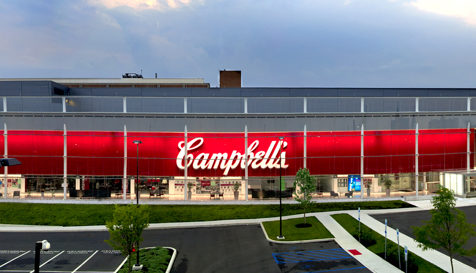 Campbell Soup Co. headquarters in Camden, N.J.