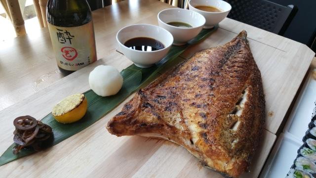 CoZara Hamachi Dinner