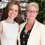 Emily Bittenbender (right) with Kate Wilhelm Chimicles, principal at KWC Strategies.